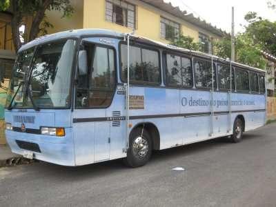 Unidade móvel do Projeto Manuelzão
